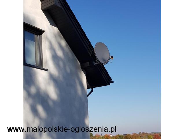 Serwis Montaż ustawianie Anten Satelitarnych