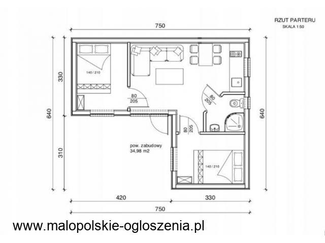 Budowa budynku do 35 m2